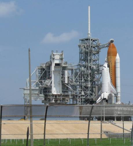 STS-127, Endeavour, on launch pad 39A. I flew her twice. (author photo)